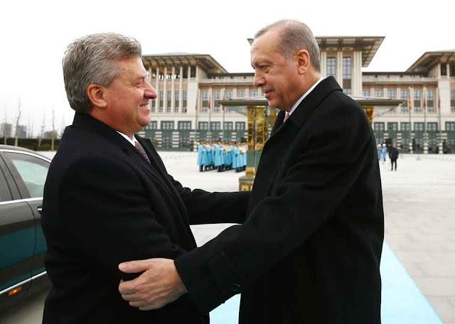 Ivanov bei Vereidigung des türkischen Staatschefs Erdogan