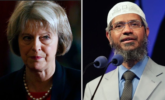 Theresa May vs Zakir Naik
