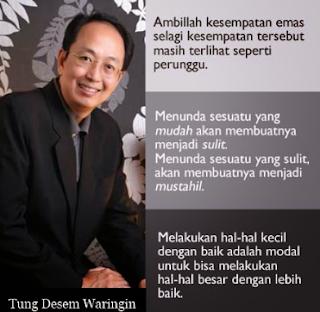 Kata Kata Motivasi Tung Desem Waringin Quotes Singkat