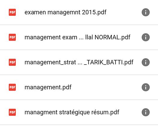 Cours + Résumés + Examens corrigés Semestre 6