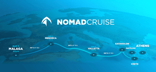 nomad cruise schedule