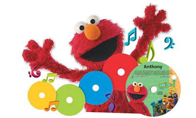 Elmo Sing your name CD publicity poster