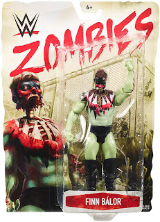 Mattel WWE Zombies Action Figures Series 3 Finn Balor 01