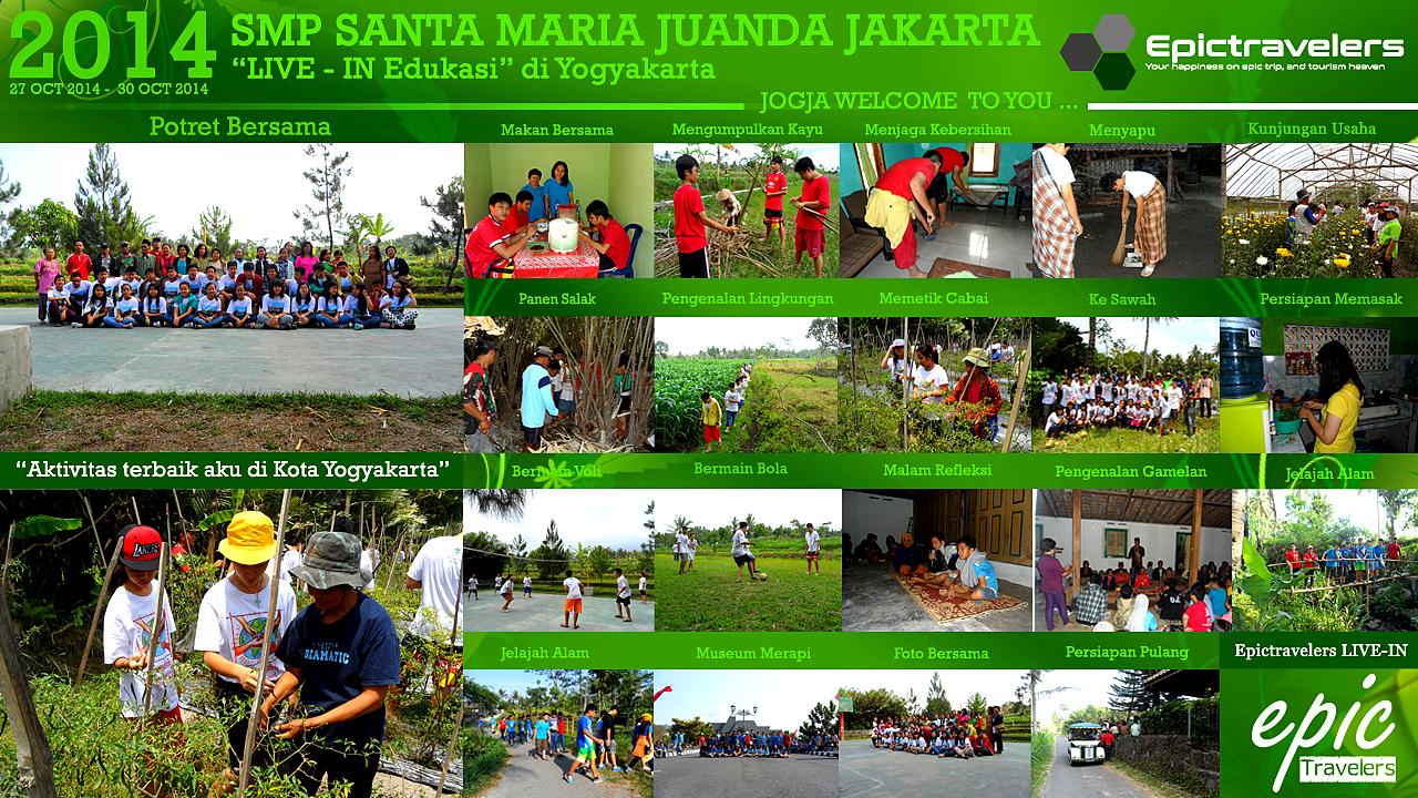SMP SANTA MARIA JUANDA JAKARTA