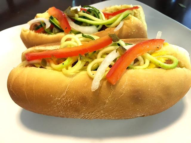 zucchini noodles pasta