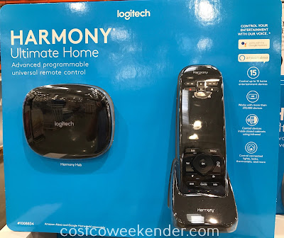Take control of all your home's devices with the Logitech Harmony Ultimate Home Universal Remote