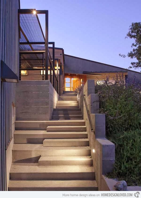 exterior stairs design picture