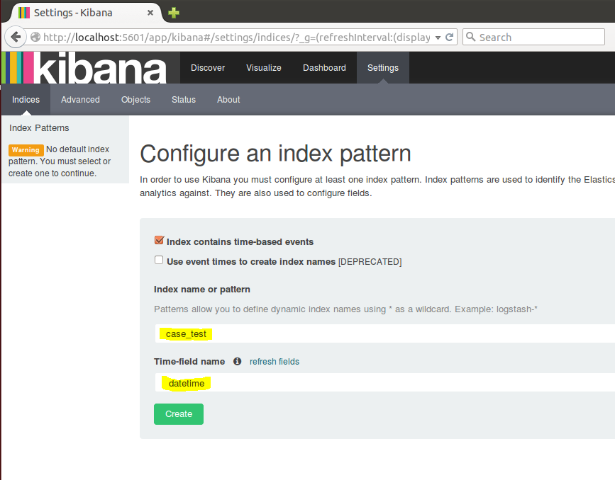 Log2timeline to Kibana (4 x) Part 1: Setup | Distributed Forensic