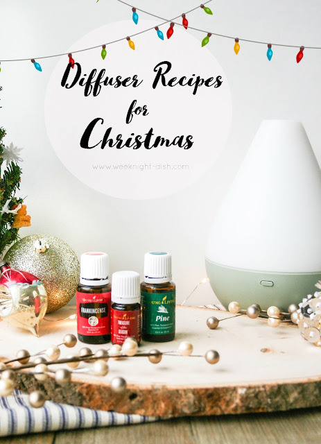 Oils with diffuser