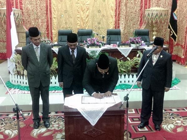 Ali Darman PAW Gantikan Alm Jhon Edwar