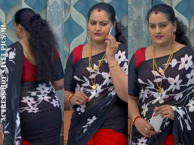 Suchithra Nair Hot And Sexy Photos   Malayalam Serial Actress