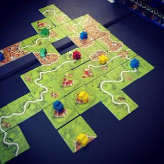 Carcassonne juego de mesa familiar