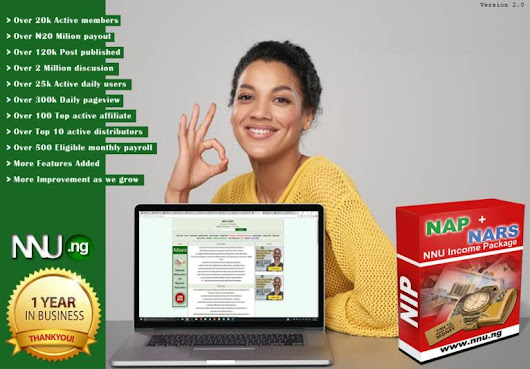 Nnu Income Program (NIP) review is it scam or Legit?
