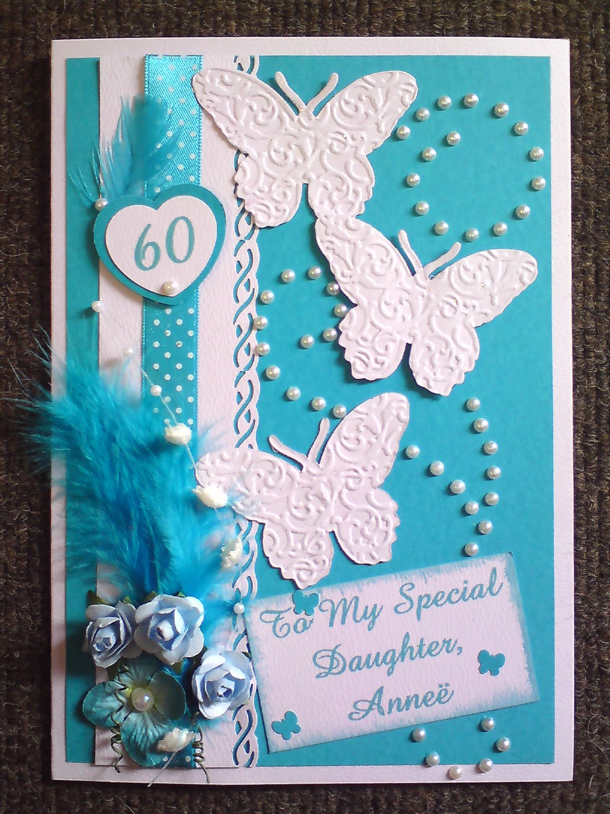 Dales Crafts 60th Birthday Card