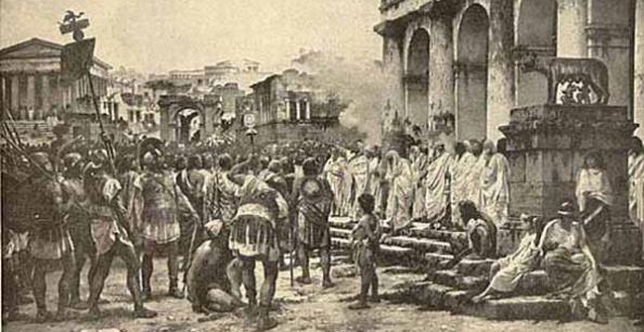 Procedimiento civil y Derecho romano