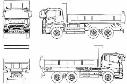 gambar skema fuso dump truk