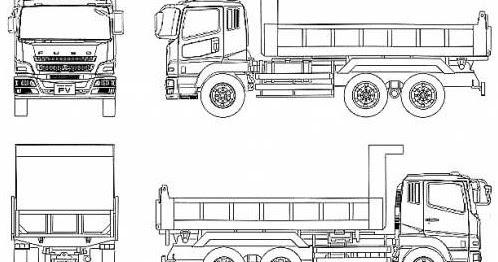20 Inspirasi Sketsa Miniatur Truk Fuso The Toosh