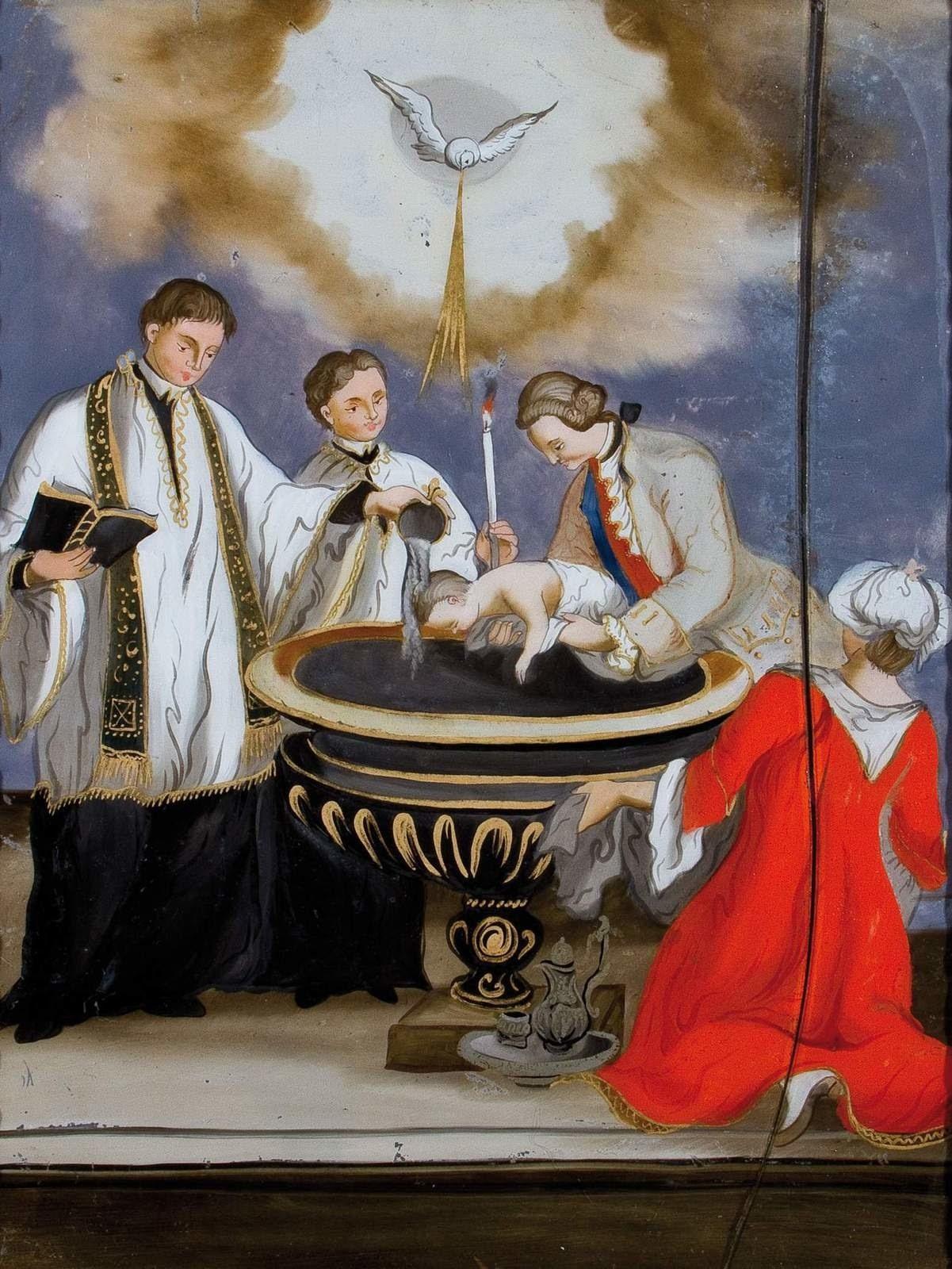 Sacrement du baptême ©Wikimédia Commons