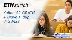 Beasiswa S2 di ETH Zurich Swiss