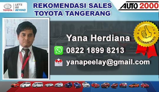 Rekomendasi Sales Toyota Ciledug