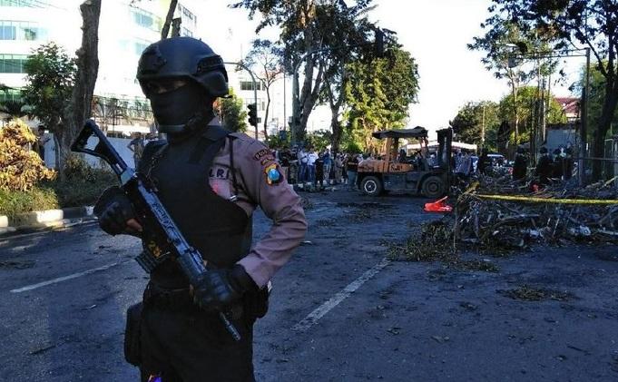 Antaranya Pelaku Pengeboman 3 gereja di Surabaya