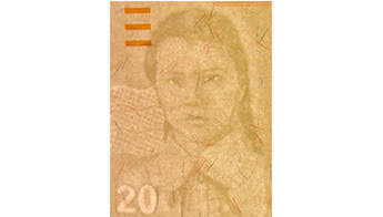 Watermark: Portraits of Genoveva Ríos, and electrotype 20