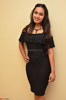 South Actress Amulya in short black dress at Kalamandir Foundation 7th anniversary Celebrations ~  Actress Galleries 014.JPG