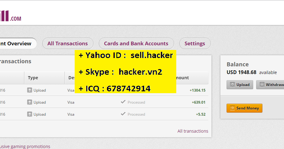 SELL CC 2016 100% live (ICQ : 678742914),dumps with pin,WU