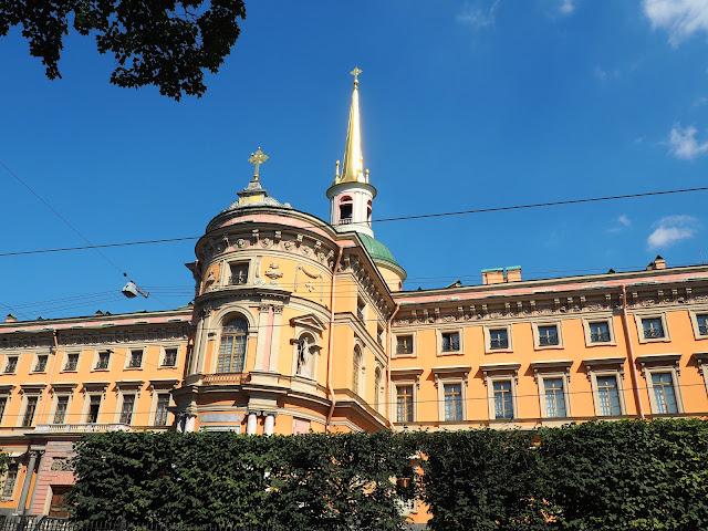 Санкт-Петербург, Инженерный замок (St. Petersburg, Engineer's Castle)