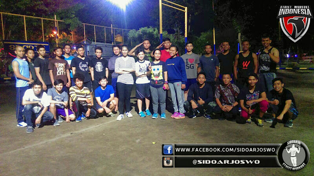 Salah satu aktivitas yangdilakukan oleh Team @SIDARJOSWO