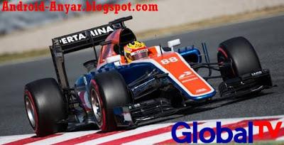 Live Streaming Global TV Android Nonton GP F1 Online Formula 1 tanpa buffering lama