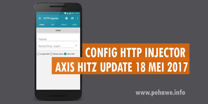 Download Config HTTP Injector Axis Hitz 1 Bulan Mei 2017
