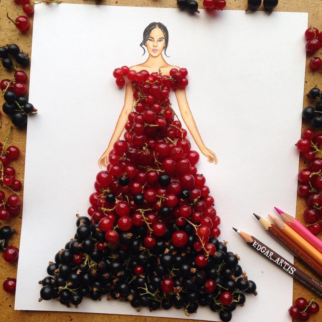 20-Red-Black-Currants-Edgar-Artis-Drawings-that-use-Flowers-Food-and-Objects-www-designstack-co