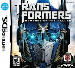 Transformers: Revenge of the Fallen, nds, español, mega, mediafire