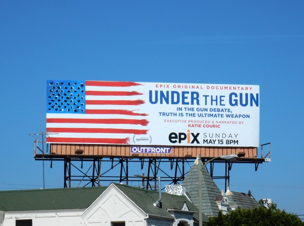 Under the Gunn documentary billboard
