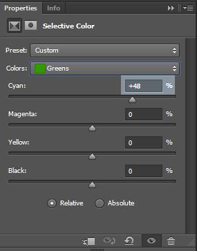 Green-color-settings
