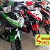 Mẫu Sơn tem đấu Exciter 150 Ducati màu xanh đen