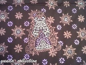 Batik Sumedang Motig Makuta (mahkota) Binokasih