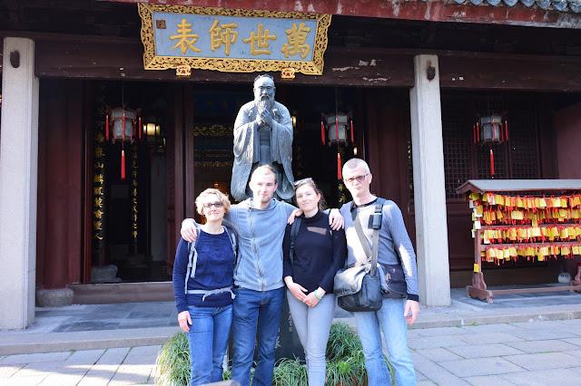 Temple de confucius à Shanghai