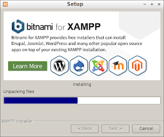 How to install XAMPP on Lubuntu 17.10
