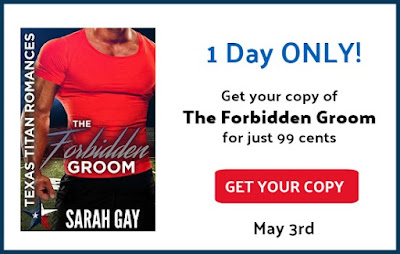 $25 Giveaway and 99c Sale: The Forbidden Groom by Sarah Gay - NWoBS Blog