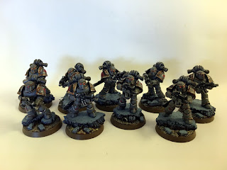 30k Burning of Prospero - Mark III Space Wolf Tactical Squad - front