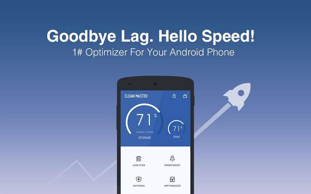 Cara Paling Mudah Menggunakan Clean Master di Android Anda Agar HP Tidak Lemot