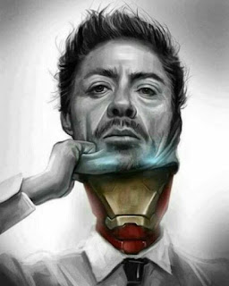 iron man tony stark mask sarcastic profile picture