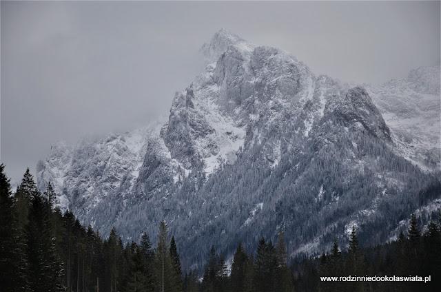 Tatry Słowackie z dziećmi- Dolina Białej Wody zimą