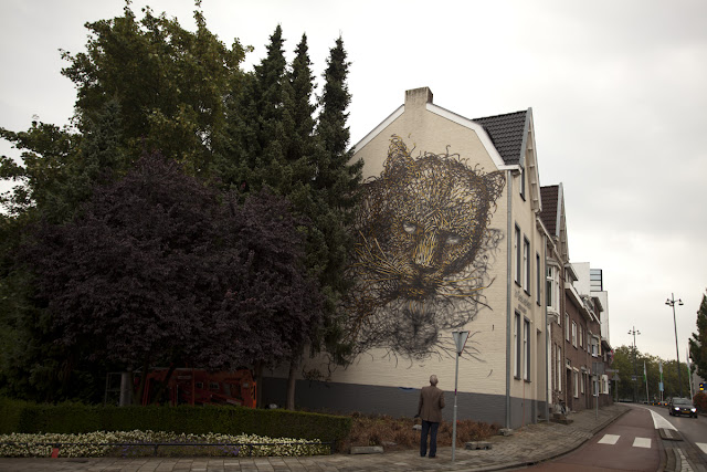 """Self Portrait"", Street Art By DALeast In Netherlands. 2"