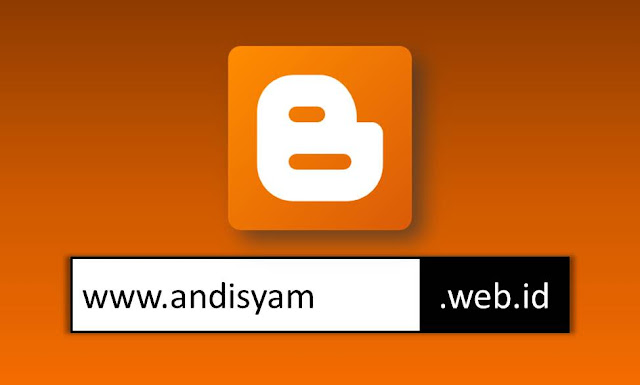 Cara Custom Domain .id Blogger di Indowebsite