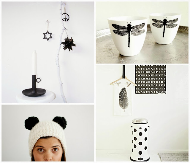 diy black & white