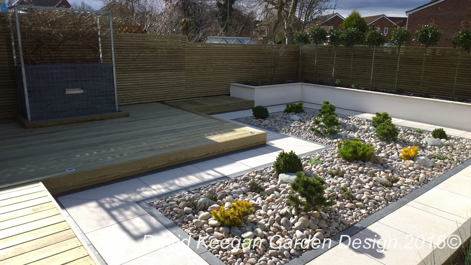 David Keegans Garden Design Blog A Small Suburban Back Garden In