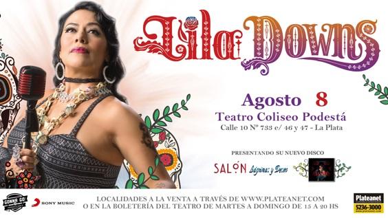 """Lila Downs presenta su nuevo álbum """"Salón, Lágrimas y Deseo"""""""